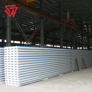 Prepainted galvalume steel plate Trapozoidal profile roof EPS acoustic foam insulation boards