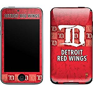 NHL Detroit Red Wings iPod Touch (2nd & 3rd Gen) Skin - Detroit Red Wings Vintage Vinyl Decal Skin For Your iPod Touch (2nd & 3rd Gen)