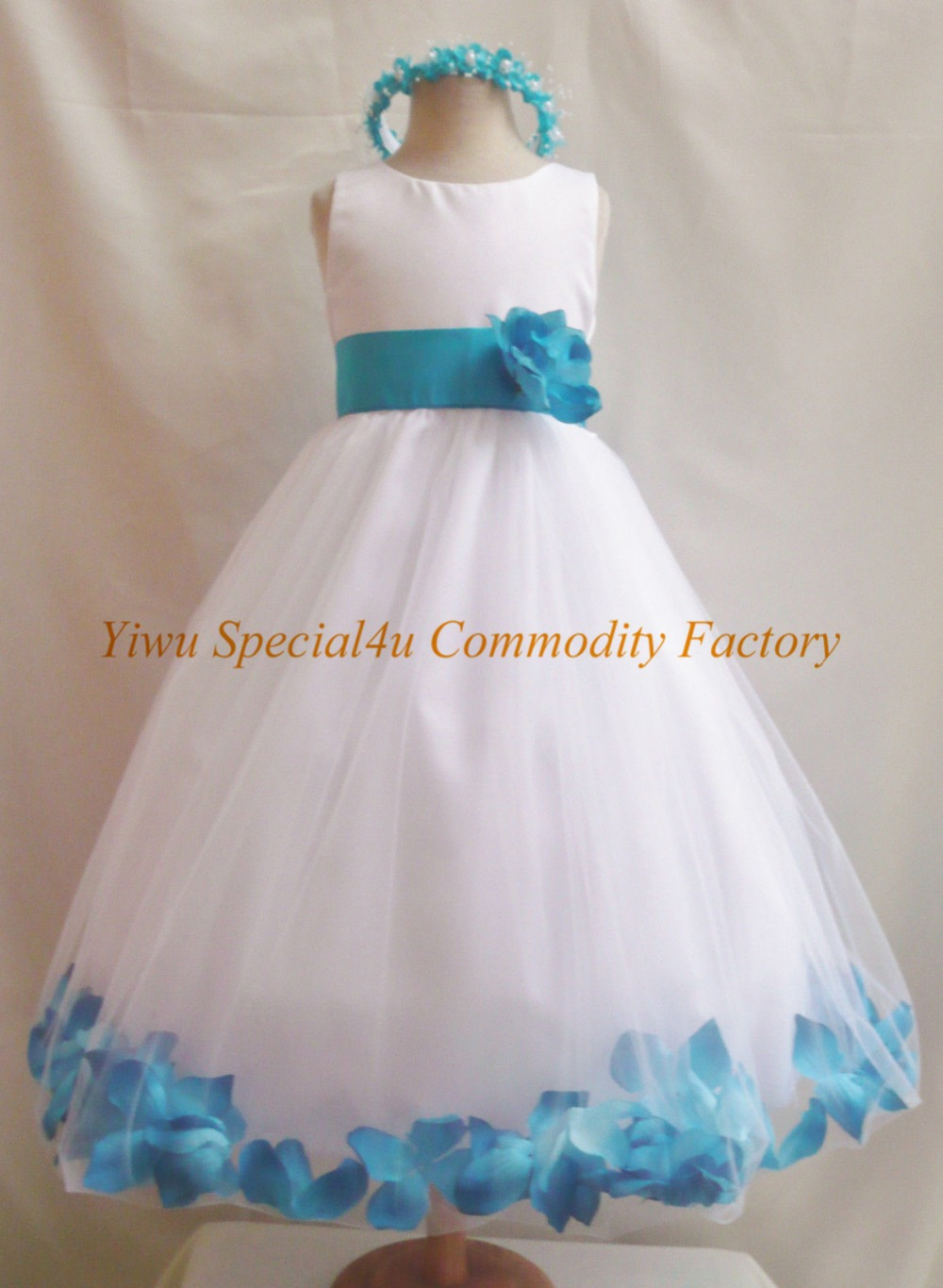 Children long frocks designs kids wedding gown baby girl for 10 year old dresses for weddings