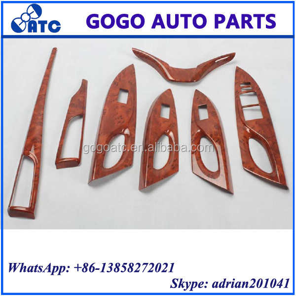 FOR TOYOTA YARIS L 2014 WOODEN DASHBOARD AND INTERIOR PANEL