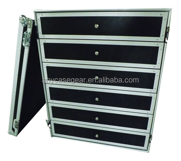 Case Utility Production Tech 7 Drawer Plastic Flight Case
