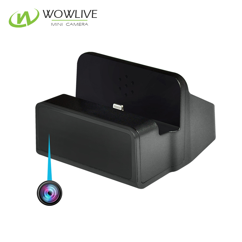 2017 Hot sale New Product HD 1080P Video Recording Spy Mobile Phone Charging Dock Hidden <strong>Camera</strong>