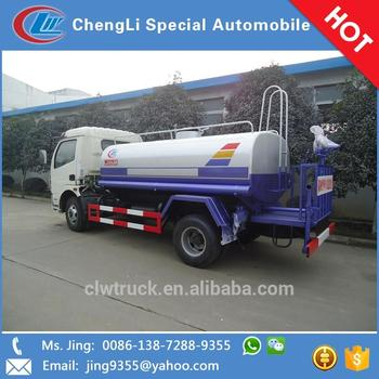 Used Water Tanks For Sale >> Dongfeng 4 2 Water Tanker Truck 6 7m3 Used Water Tank Truck For Sale