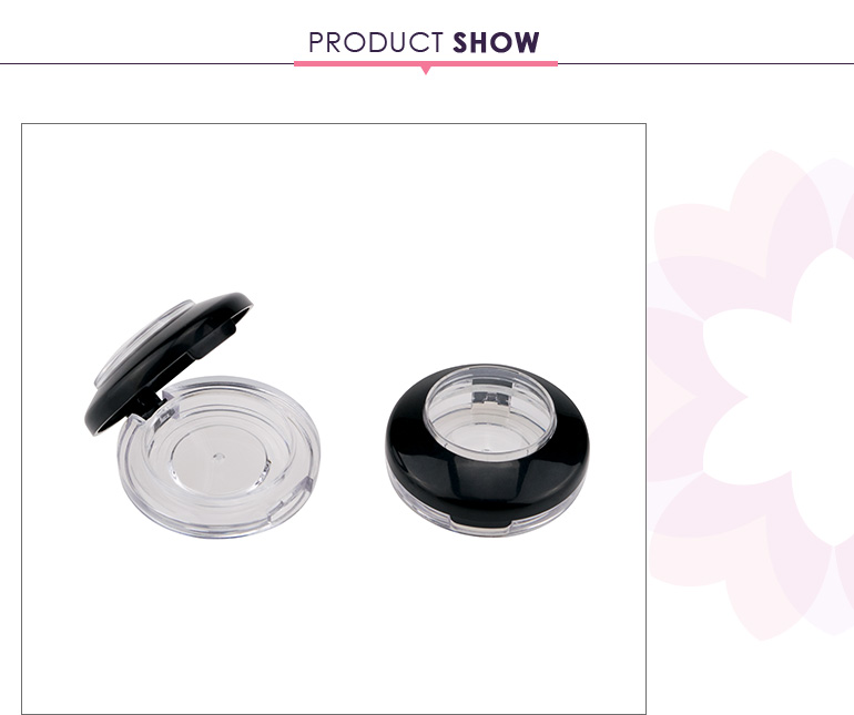high grade blush brow powder packaging eyeshadow single case with skylight