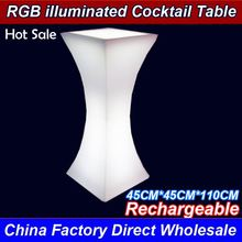 Factory Wholesale Wholesale Led Portable Cocktail Illuminated Bar top class quality