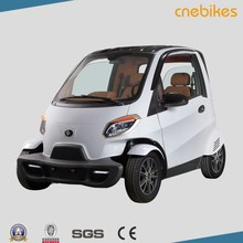Mini electric car EEC approved 2seats Small passenger electric car for 2 person