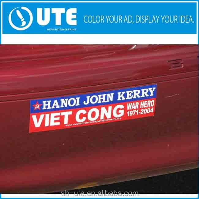 Custom magnetic bumper stickers custom magnetic bumper stickers suppliers and manufacturers at alibaba com