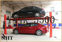 Direct Factory Price CE ISO Hydraulic 4 Post Garage Car Parking Lift System Y4JK-5500