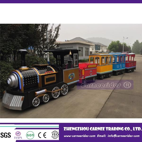 funfair ride Chinese manufacturer miniature trains for children