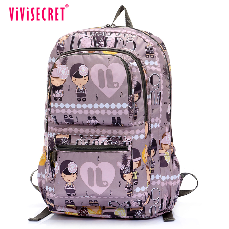 Hot Fashion Lovely Campus School Book Bag Ager 10 Years Child Bags With Laptop Compartment For