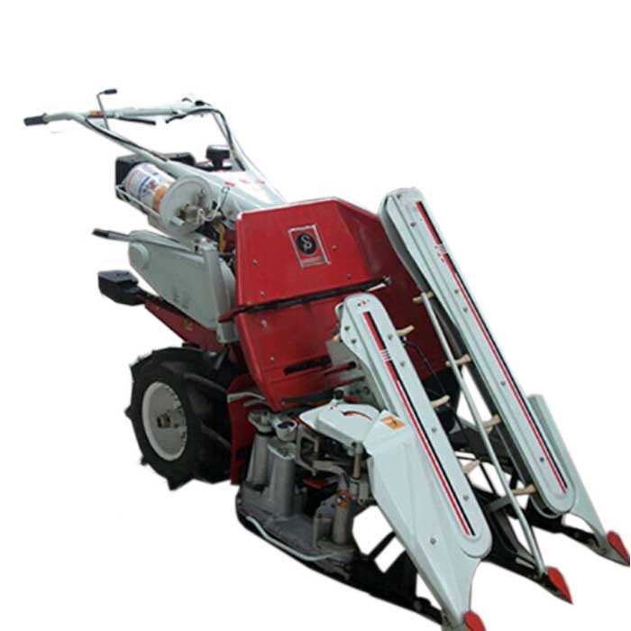 Factory price grain reaper binder/wheat reaper /mini rice paddy cutting machine