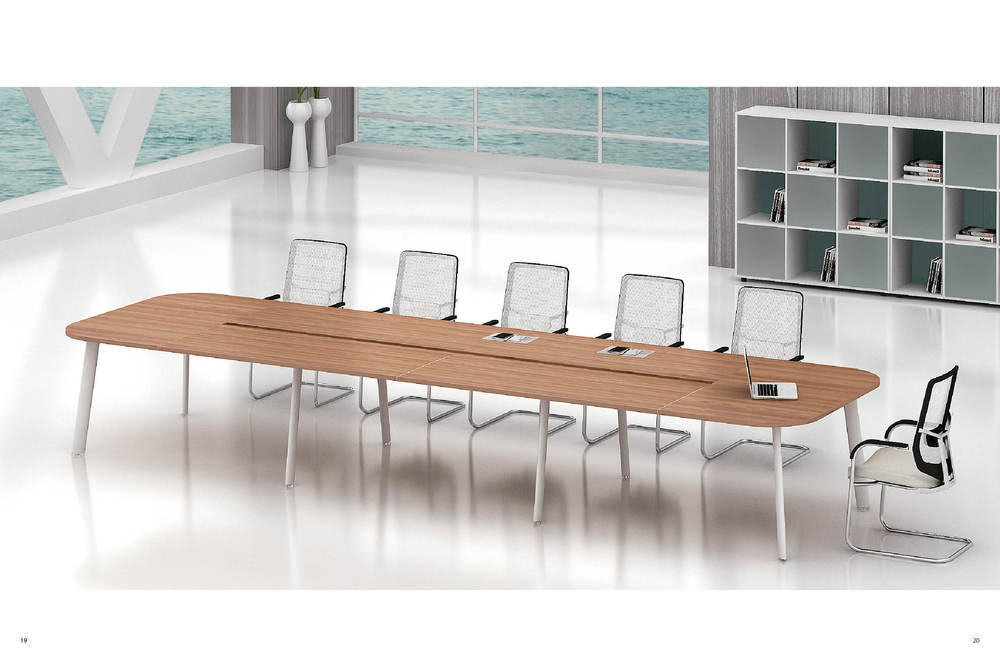 High Quality Office Furniture Long Table Workstation Desk Without Screen Conference Meeting