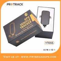 Free Platform with multi language GPS Tracker VT05S cell phone number by free real time tracking service with best App