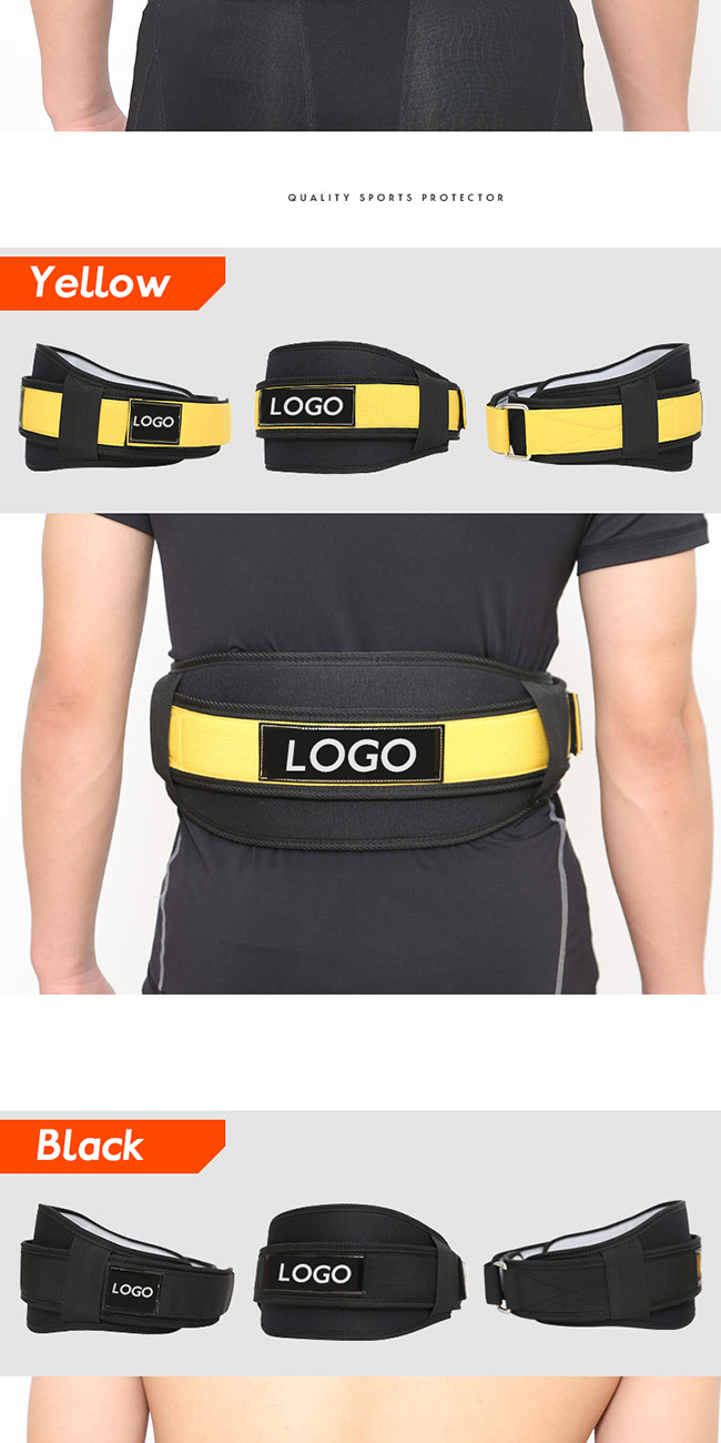 Athletic Sports Weight Lifting Power Intensity Training Belt