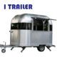Electric health aluminum food van