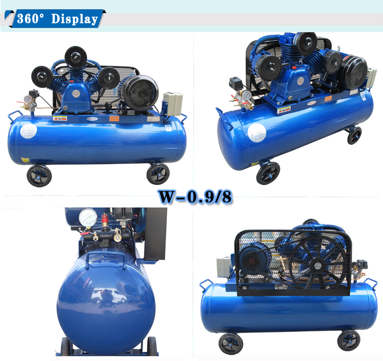 Spray Painting With A Compressor Part - 40: 1.5hp Portable Belt Driven Air Compressor V-0.12 For Spray Painting Sale In  Sri