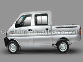 Dongfeng double row cab diesel mini cargo truck price low
