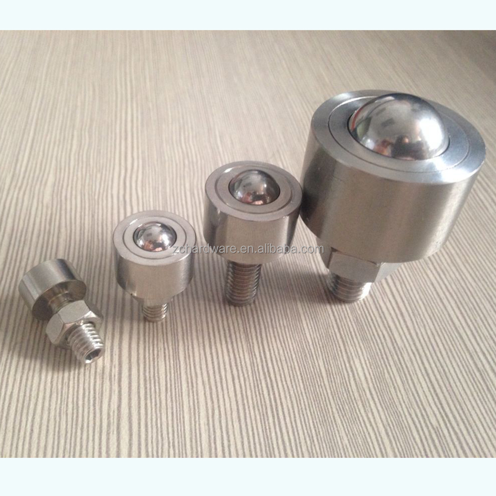 MISUMI BCHN Ball <strong>Rollers</strong> - Male Thread with Nut