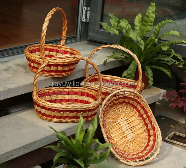 Handmade Wedding Fruit Basket Decoration Christmas Gift Basket