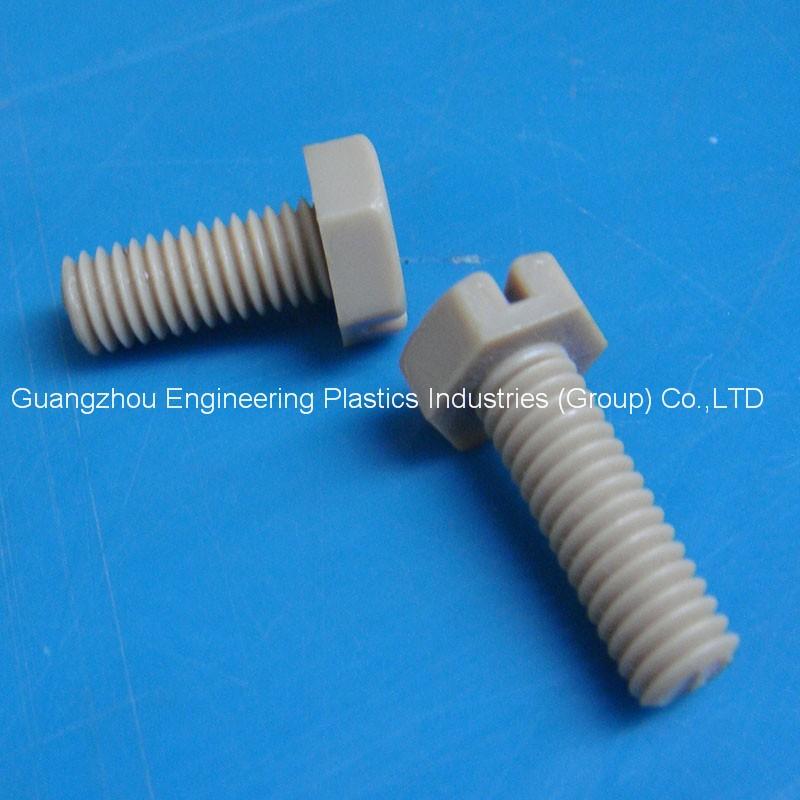 High Precision Cnc Machining Peek Plastic Screw With