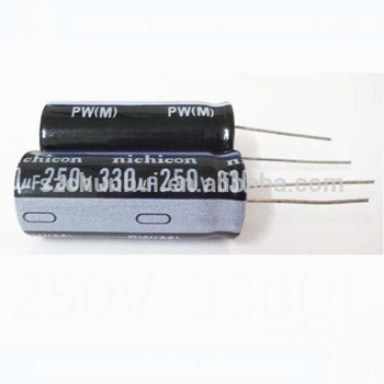 250v 330uf electrolytic capacitors 18*42mm