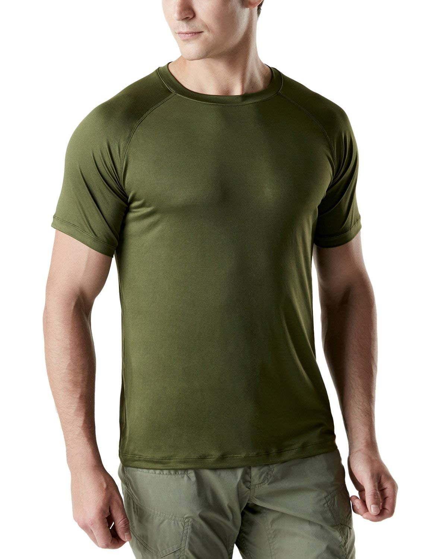 Tesla Men's HyperDri Short Sleeve T-Shirt Athletic Cool Running Top MTS08/MTS06/MTS04/MTS03/MTS07