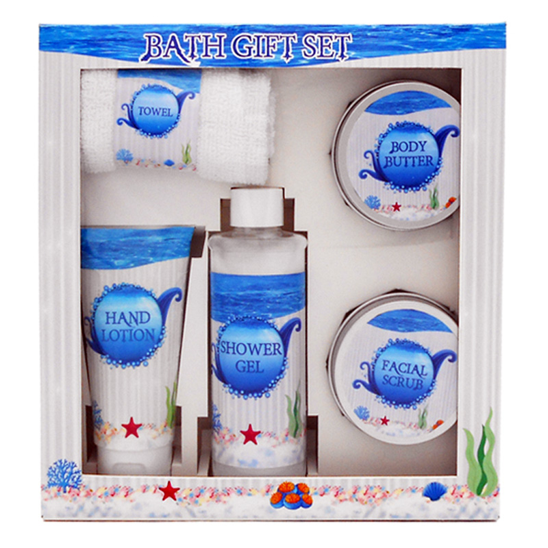 Custom body care product heet verkoop spa bad gift set
