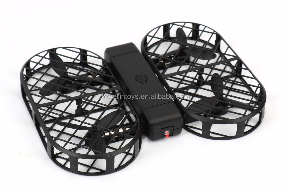 DWI Dowellin D7 Portable Foldable Arms WIFI Selfie Cheap Drone with Altitude Hold