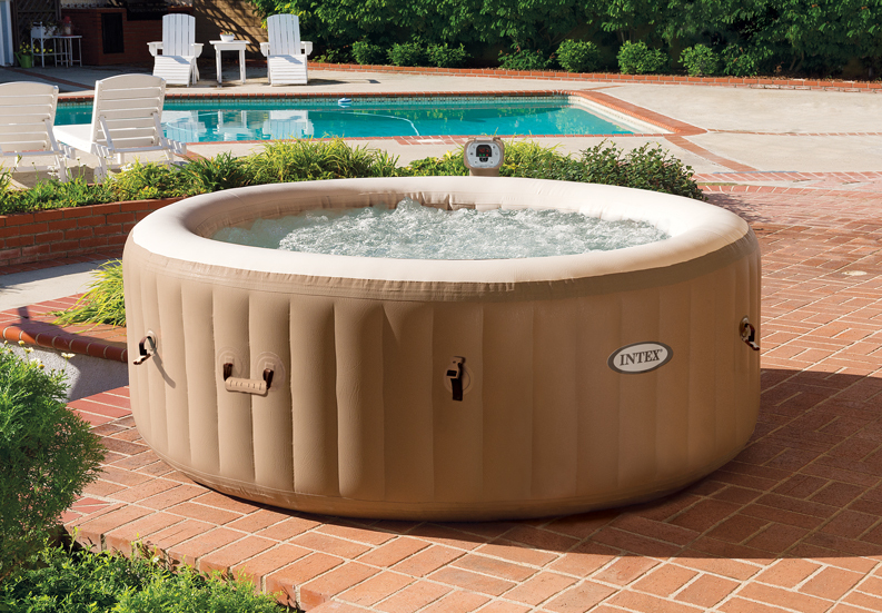 with inflation hose intex bubble spa hot tub massage bath tub buy spa hot tub spa tub intex. Black Bedroom Furniture Sets. Home Design Ideas