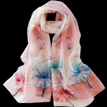 New arrival spring lightweight women scarves and shawls high quality silk with wool blending muslim hijab scarf