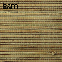 natural bamboo wallcovering decorative wallpaper rattan tapete
