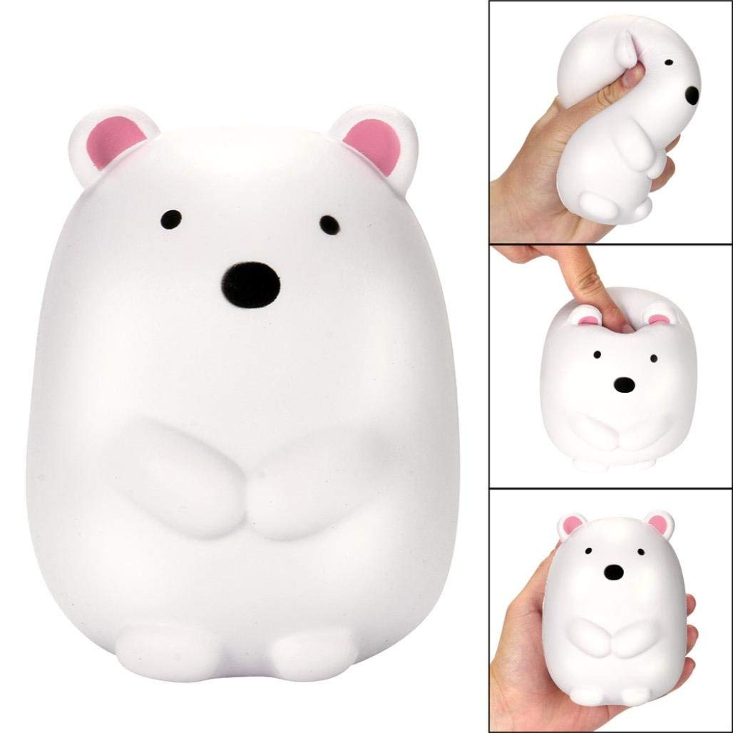 2018 Hot Sale Toy,Shybuy 12cm Jumbo Squishy Cute Polar Bear Cream Scented Squishies Slow Rising Charm Toy