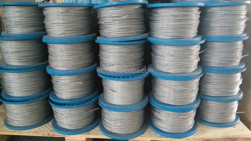 6x19 Pvc Coating Steel Wire Rope - Buy 6x19 Pvc,Pvc Coating,Pvc ...