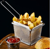 Home Made Food & Restaurant Stainless Steel Rectangular Fry Basket