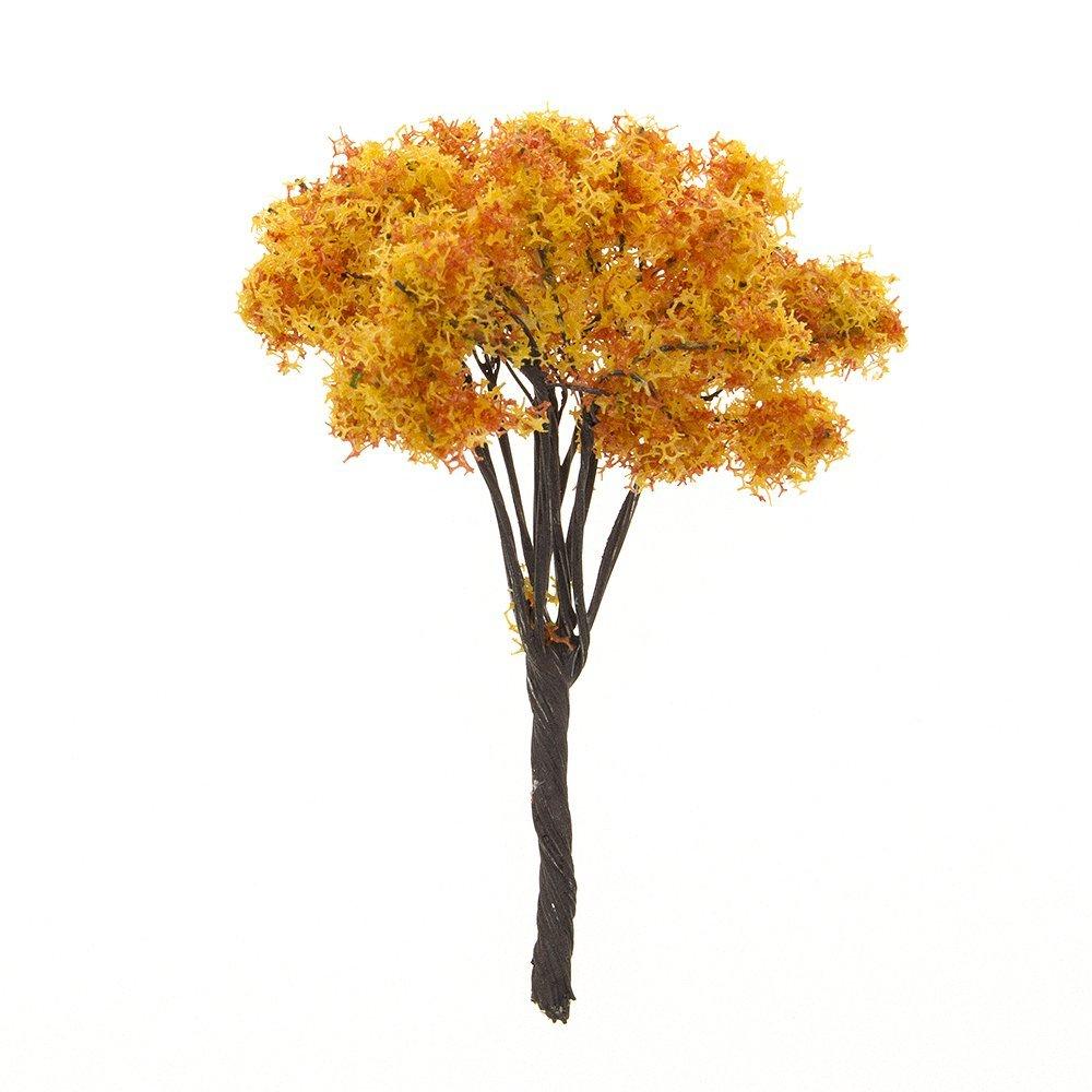 VASL 4 Pcs Artificial Tree Miniature Fairy Garden Ornament Decor