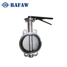 Competitive prices hot sale efficient stainless steel 4 inch fisher 7600 butterfly valve