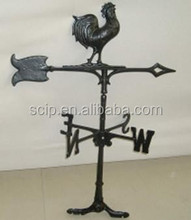 ornaments cast iron wine vane. hot sale rooster wind vane