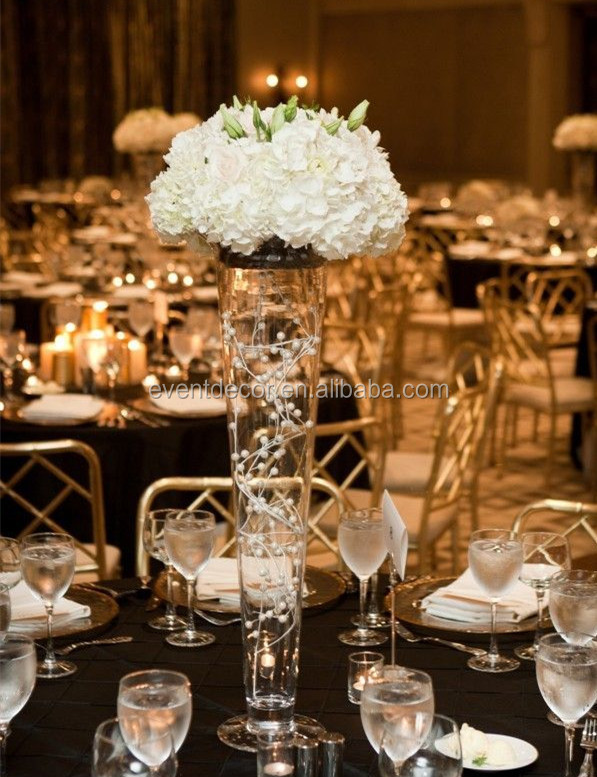 clear glass vase vase wedding centerpiece and flower arrangements rh eventdecor en alibaba com square glass vases wedding centerpieces square glass vases wedding centerpieces