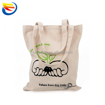 New Style Black Canvas Tote Bag Custom Cotton Gift Ping For Promotion