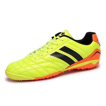 Men Flat Sole Indoor Football Shoes