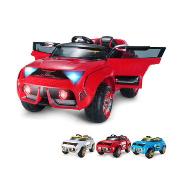 outdoor drive plastic electric ride on kids car remote control with high quality