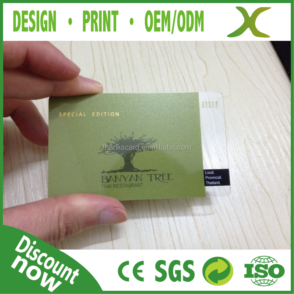 Free Design~~~!!! Free Sample Plastic Card/ Plastic Gold Foil ...