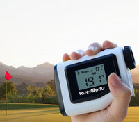 LaserWorks 600m Upgraded Performance Golf Pinseeker Jolt Slope Corrected Golf Rangefinder Golf