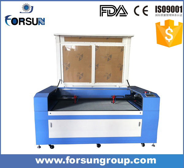 discount price cnc 1390 size CO2 laser machine/laser engraver for wood fabric