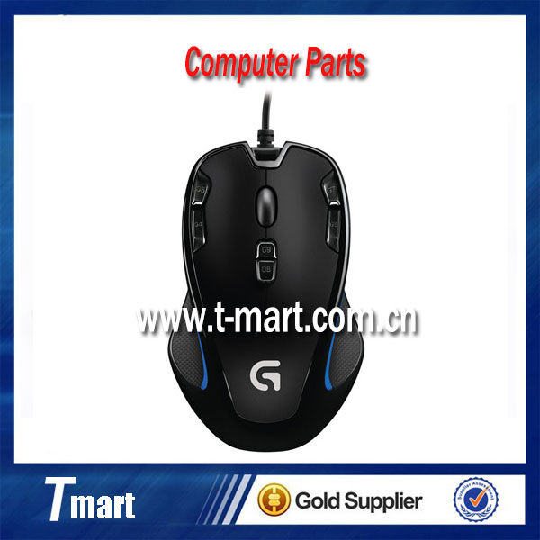 Wholesale 100% working computer parts for Logitech G300S USB Optical Gaming mouse with 2500 DPI new and in stock