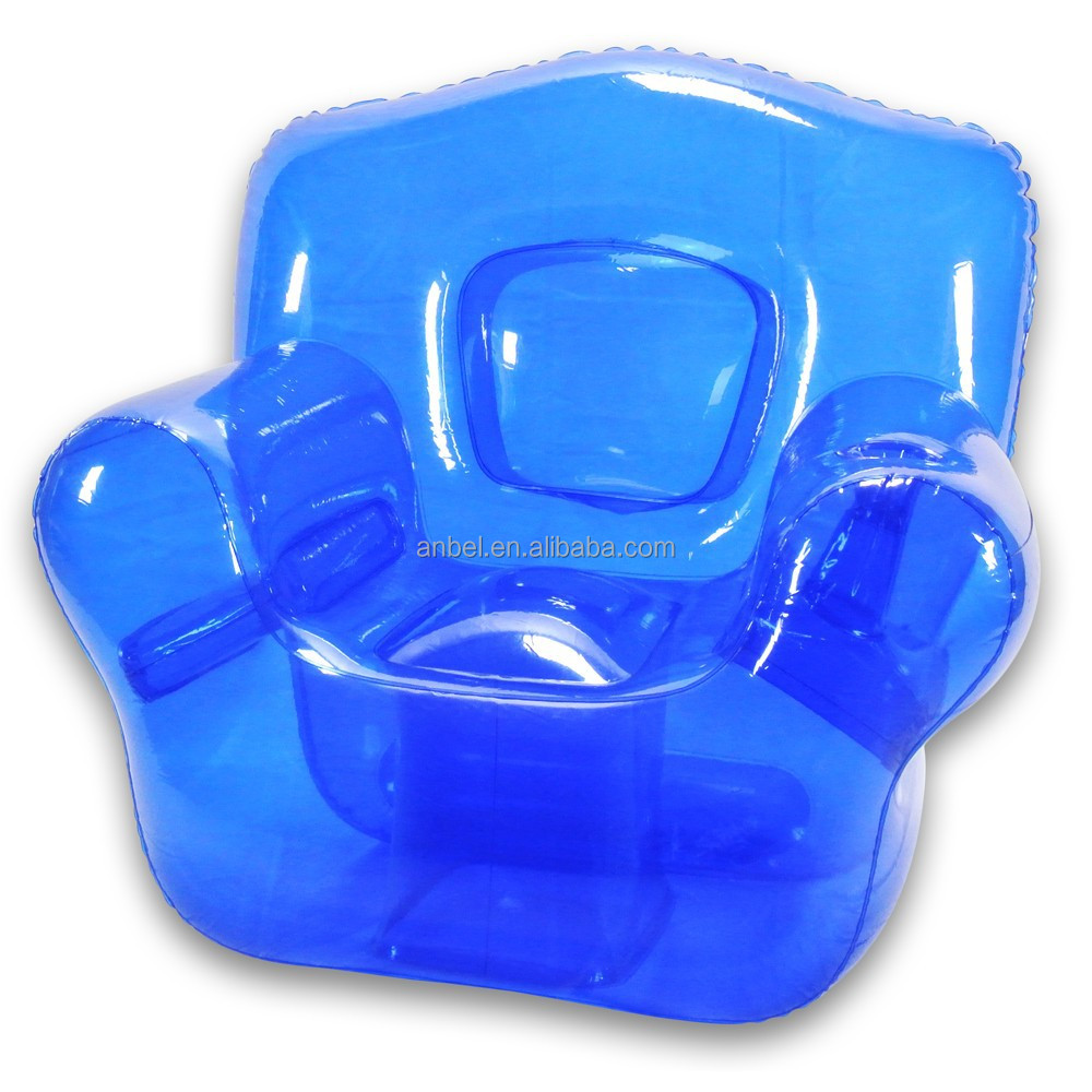Por Transpa Inflatable Corner Chair Air Sofa Couch For