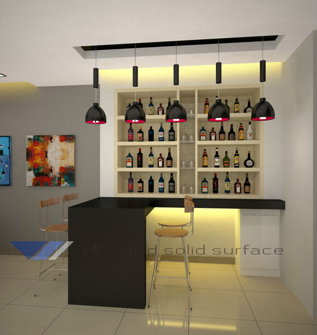 Put At Home Bar Counter Design Retail Checkout Counters