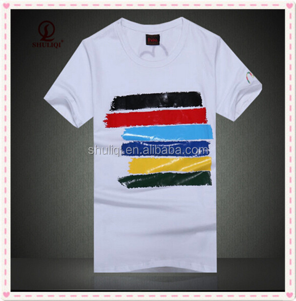 Polo T Shirt with Printing 100% cotton fashion style China Guangzhou factory with 25 years experience