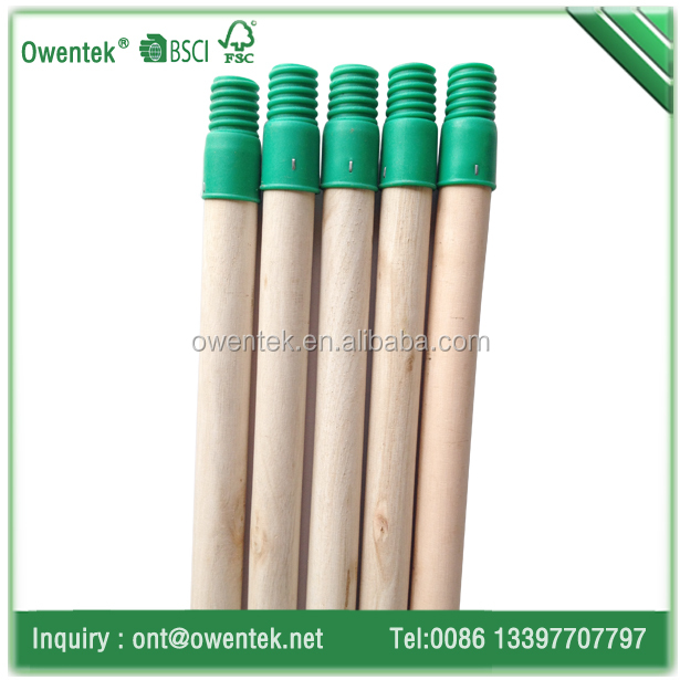 natural low price plastic broom stick for sweep easy broom and grass broom