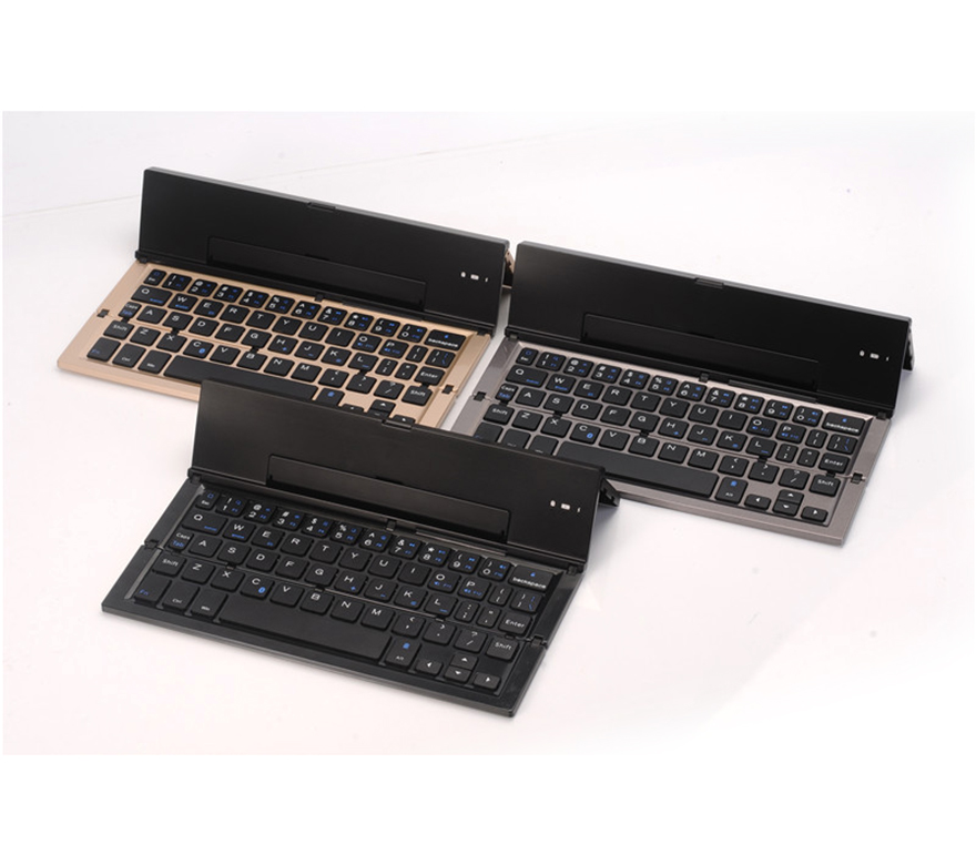High quality long duration time bluetooth keyboard for 5 inch andriod tablet With Long-term Technical Support